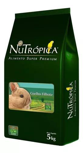 Ração nutrópica coelho filhote - 5kg