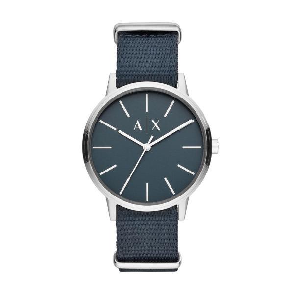 Relógio armani exchange masculino prata ax2712/0kn