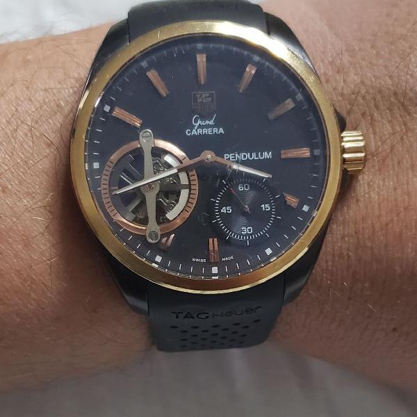 Relógio tag heur grand carrera pendulum aaa