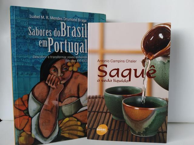 Sabores do brasil em portugal + saque a seda liquida - senac