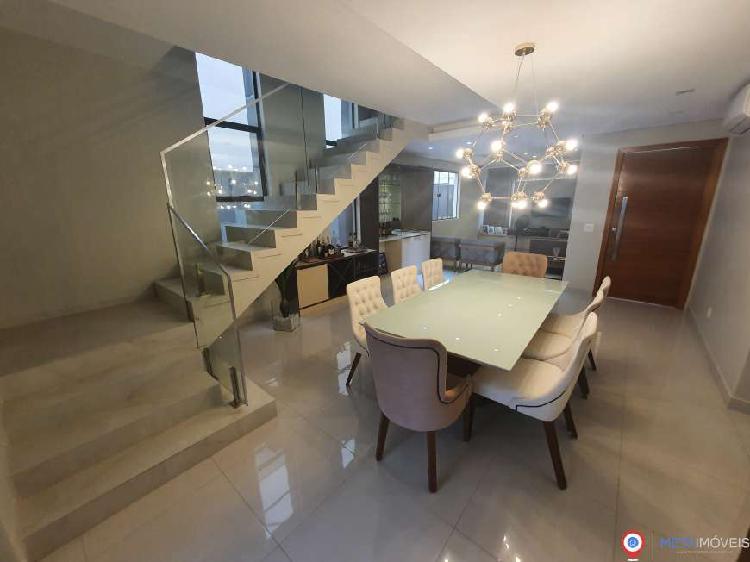 Terras alphaville casa nova com 251,24 m² construídos