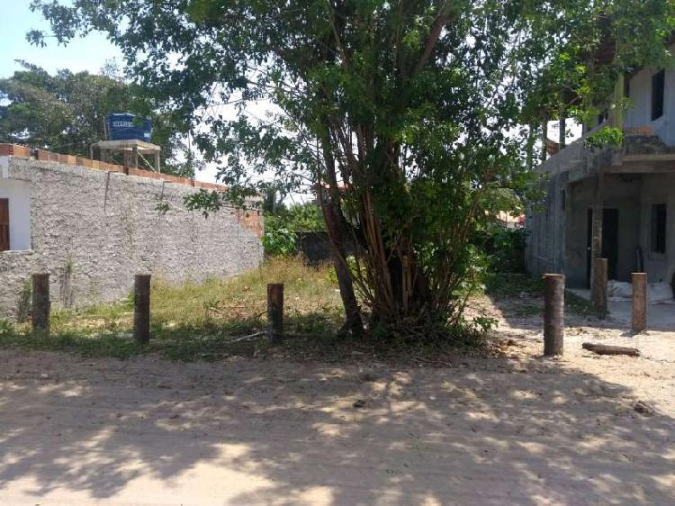 Terreno na quarta praia de morro de são paulo com 150m²