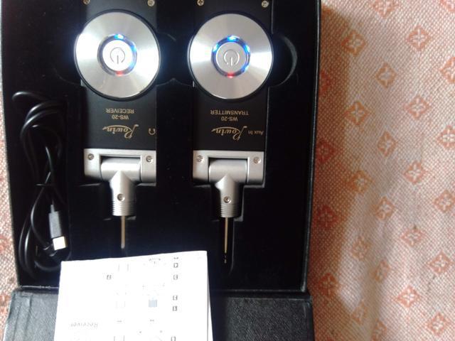 Transmissor/receptor s/fio rowin ws-20 p/todos instrumentos