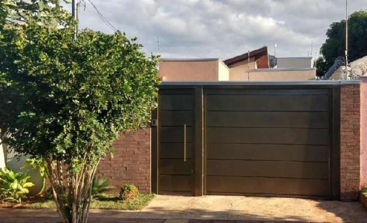Vendo – casa térrea – jardim presidente