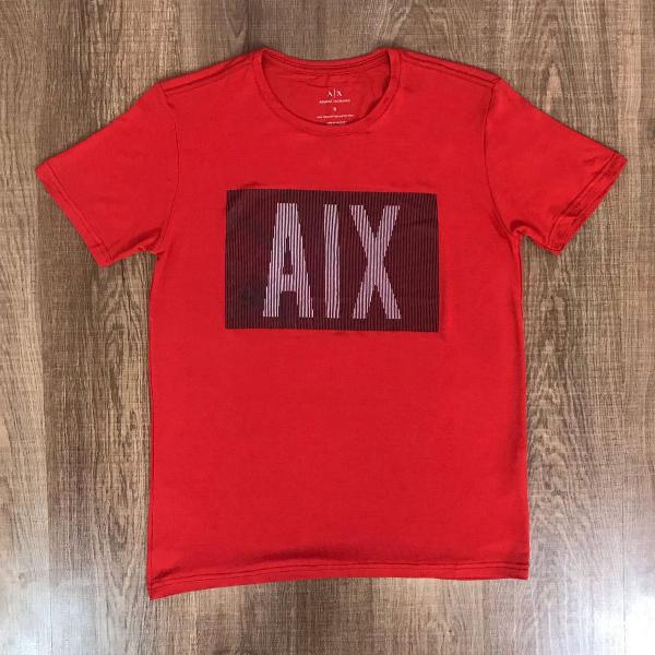 Armani exchange camiseta masculina estampada