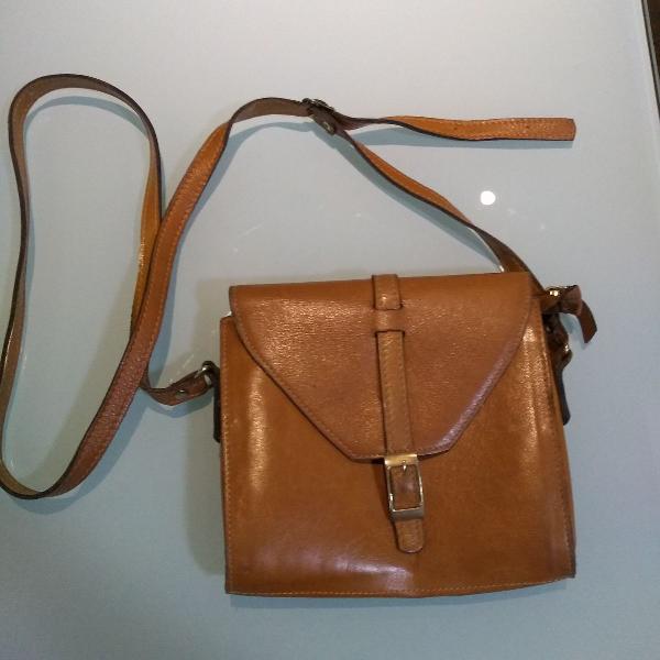 Bolsa tiracolo de couro