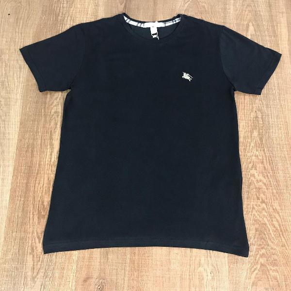 Burberry camiseta masculina lisa com logo