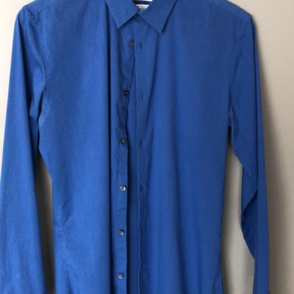 Camisa azul calvin klien