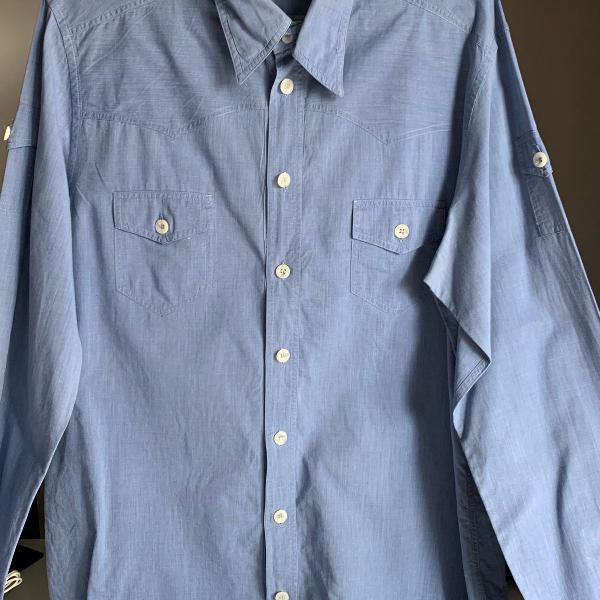 Camisa botão manga longa dolce & gabanna