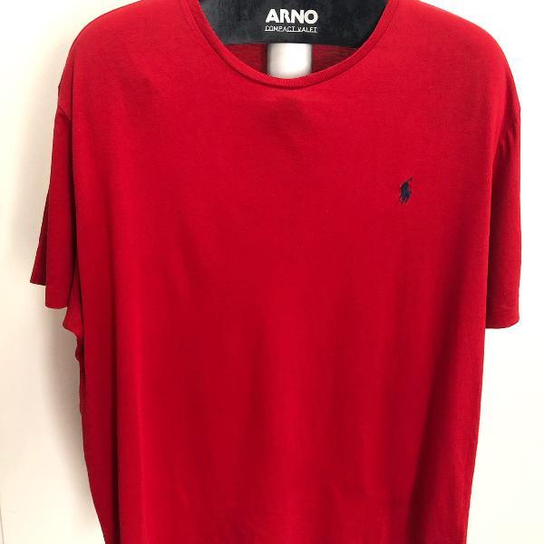 Camisa polo ralph lauren xxl importada vermelha