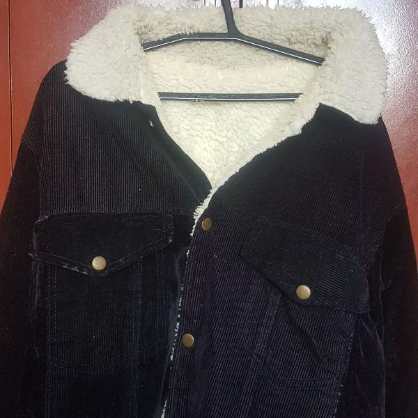 Jaqueta forrada com lã