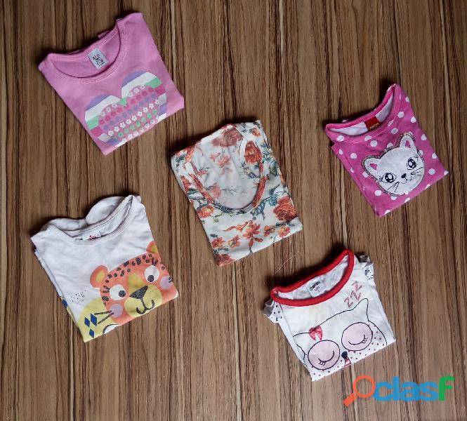 Mistinha infantil 300 peças  roupas usadas para brechó