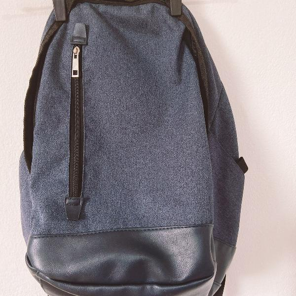Mochila blue jeans color