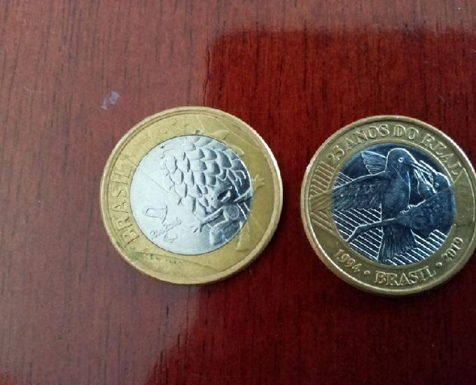 moedas comemorativas