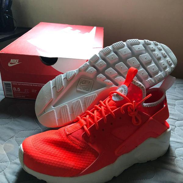 Nike air huarache run ultra - masculino - cor vermelho -