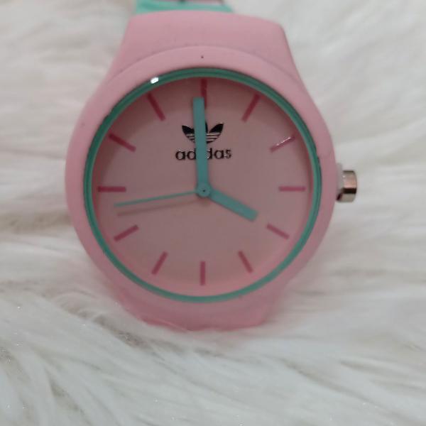 Relógio adidas silicone feminino