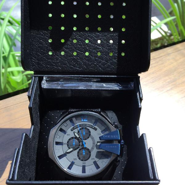 Relógio diesel mega chief dz 4500 original