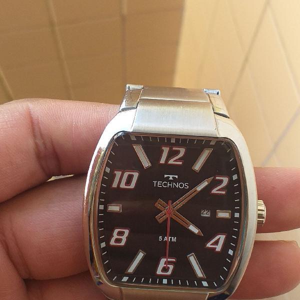 Relógio technos original obs pulseira p pulso fino