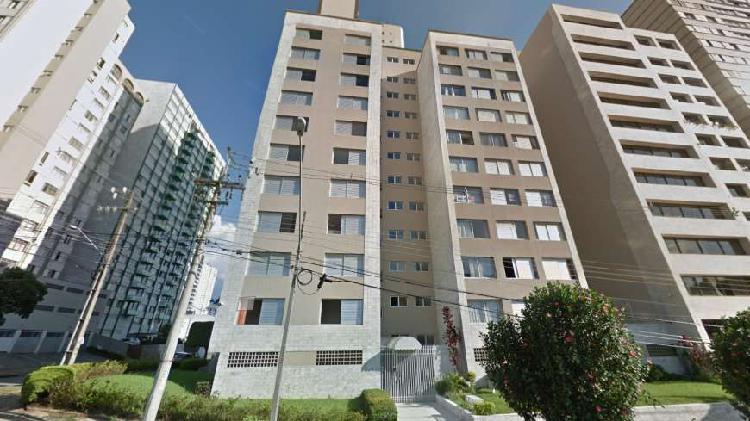 Apartamento visconde de guarapuava 63m² 2 quartos 1 vaga