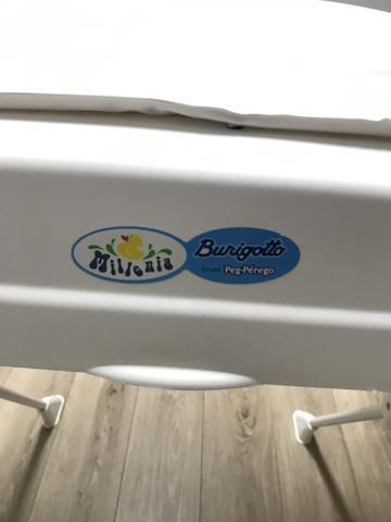 Banheira de bebê com redutor e trocador marca burigotto -