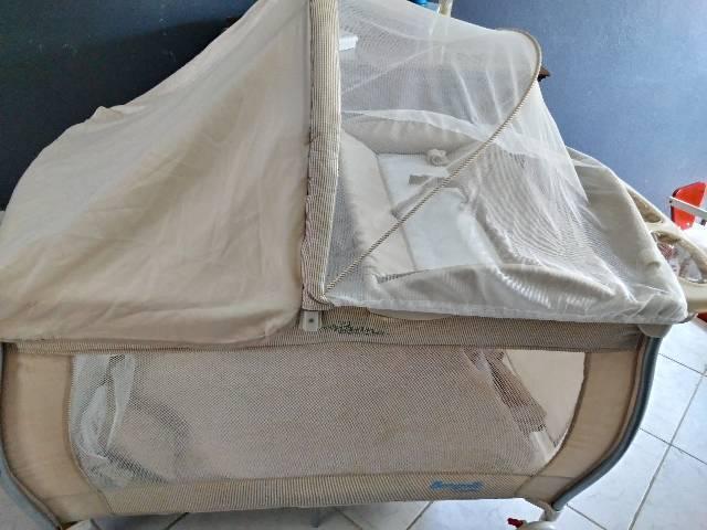 Berço móvel burigotto com colchão
