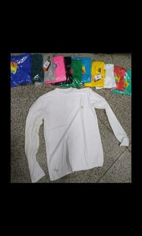 Camisa uv proteção solar.