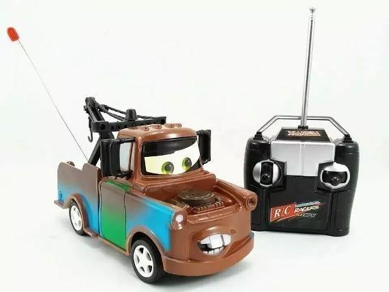 Carrinho controle remoto carro- mate e wild sheriff