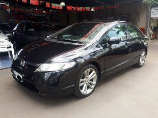 Honda civic lxs 1.8 flex 2007 automático com baixa km rodas