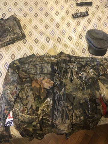 Linda camisa de manga cumprida caça e pesca