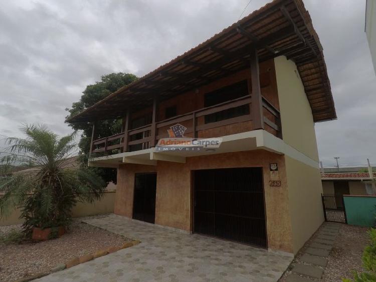 Locação anual casa com 4 dormitórios na praia do gravatá