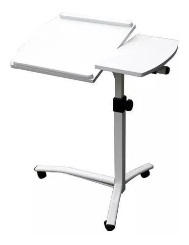 Mesa notebook luxo altura ajustável tampo reclinável mdf