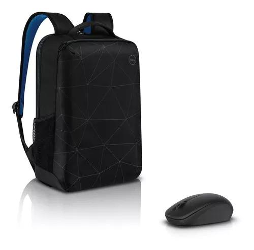 Mochila notebook dell essential 15.6 + mouse s
