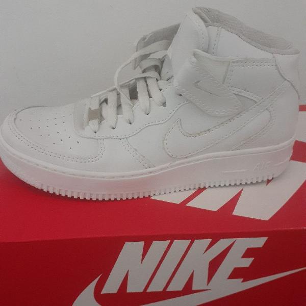 Nike Air Force 36 cano médio