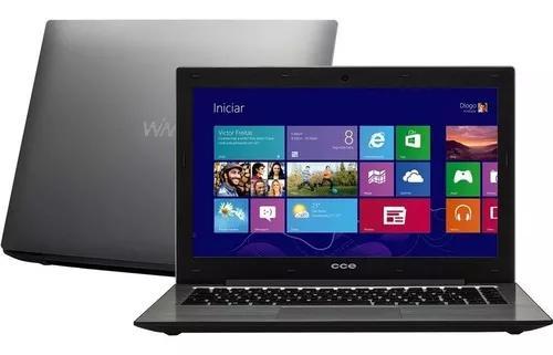 Notebook cce win t345 i7 4gb 500gb windows 14'' led