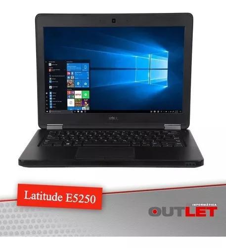 Notebook dell latitude e5250 12.5 i5 5300u 8gb msata 128gb