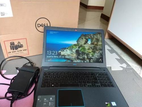 Notebook gamer dell g3 i5 8gb 1050ti 4gb 1tb hd 256 ssd