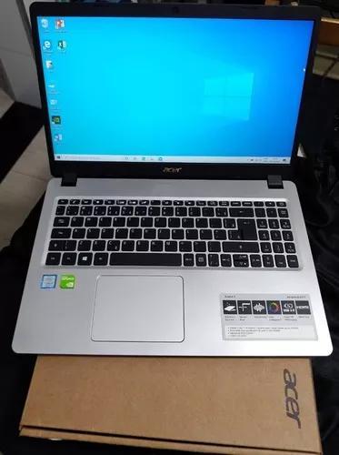 Notebook gamer i5 8° geração acer placa de vídeo 2gb