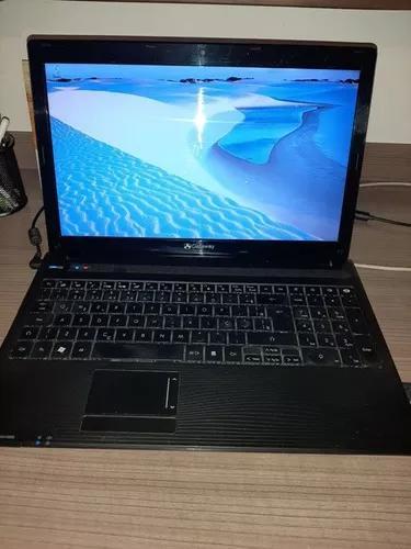 Notebook gateway core i3
