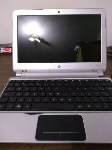 Notebook hp dm1 3250br usado com defeito leia o anúncio