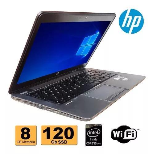 Notebook hp elitebook 840 core i5 4º 8gb ssd 120gb