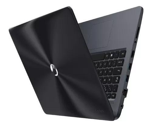 Notebook positivo master n40i- 4gb ssd 32- hdmi vitrine