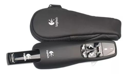 Passador de slides apresentador logitech com laser pointer
