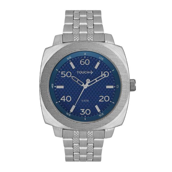 Relógio touch unissex prata tw2039kso/4a
