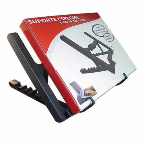 Suporte regulável c/ ajuste de 5 alturas p/ notebook laptop