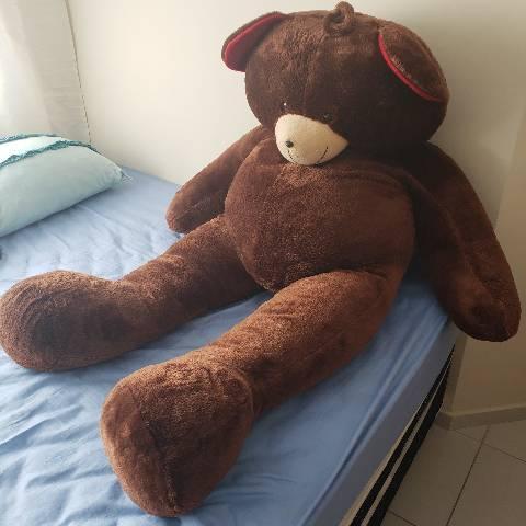 Urso de pelúcia gigante 1metro80cm