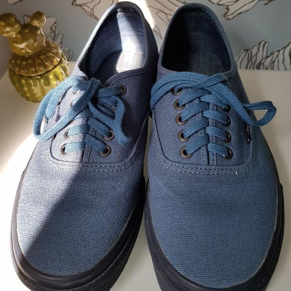 Vans azul marinho