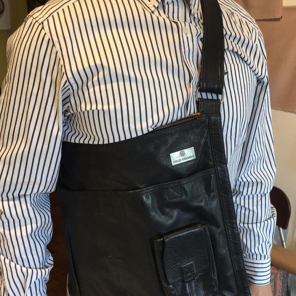 Bolsa em couro teruo yamada