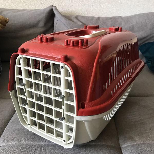 Caixa transporte para cachorro e outros animais