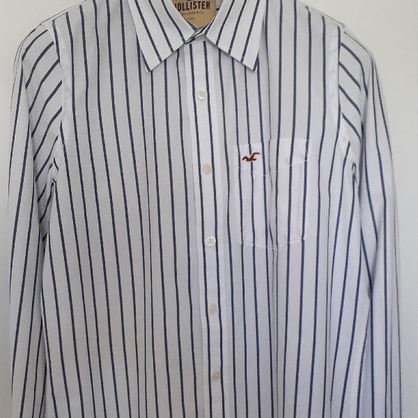 Camisa hollister social/casual