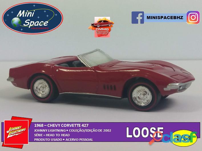 Johnny Lightning 1968 Chevy Corvette 1/64   Loose